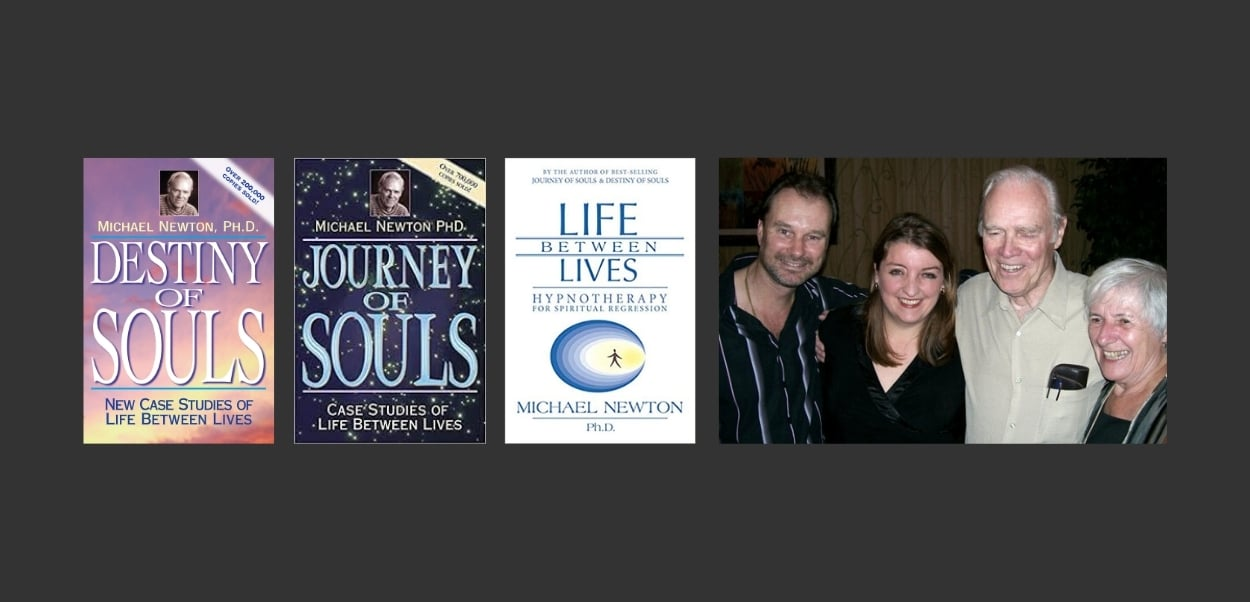 Colleen-Joy and Dr Michael Newton LBL